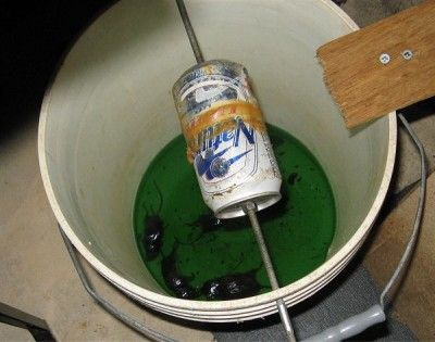 Bucket mouse trap--- sorry all but I am sick and tired of Mickies in the cellar