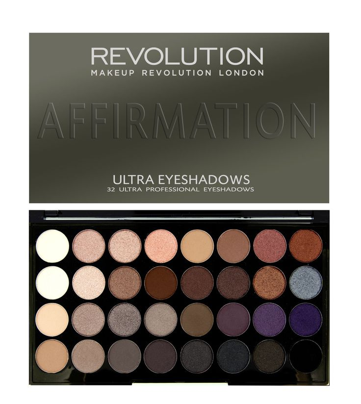 Revolution - Ultra 32 Shade Eyeshadow Palette AFFIRMATION -- This is my all time FAVORITE eye shadow palette. I would even choose this over ALL of the UD Nakeds.