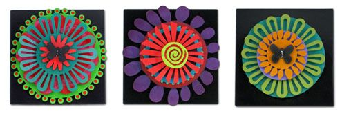 Rejoice In Color. Carol's one of a kind art pieces.