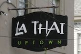 Thai Uptown:  4938 Prytania St, New Orleans, LA   (504) 899-8886    Looking for some great Thai food? Look no further! This restaurant was Voted Best Thai Restaurant by Where Y'At Magazine and Best of New Orleans.     http://www.petfriendlyneworleans.com/restaurants.html