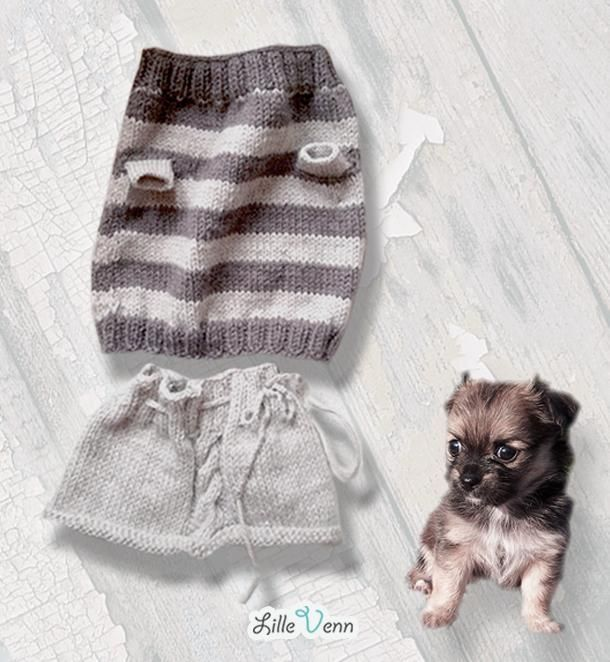 Doggy Outfit made with Organic Wool!