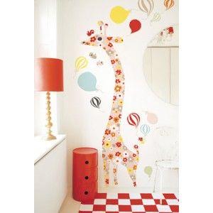machen sie das kinderzimmer zu einem ganz besonderen raum. für grosse und kleine kinder. wie gross? die giraffe mit buntem blumenmuster dient als messlatte für kinder bis zu einer grösse von 170cm und wird einfach an die wand geklebt. der wandaufkleber kann jederzeit vorsichtig abgelöst werden. lieferung in papprolle.