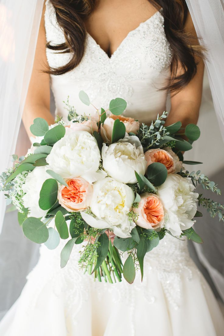Garden Rose And Peony Bouquet 24 best peony bouquets images on pinterest | peonies bouquet