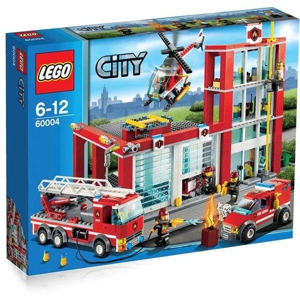 Ms de 25 ideas increbles sobre Lego city fire station en Pinterest