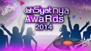 This is the 20 champions Dahsyatnya Awards 2014