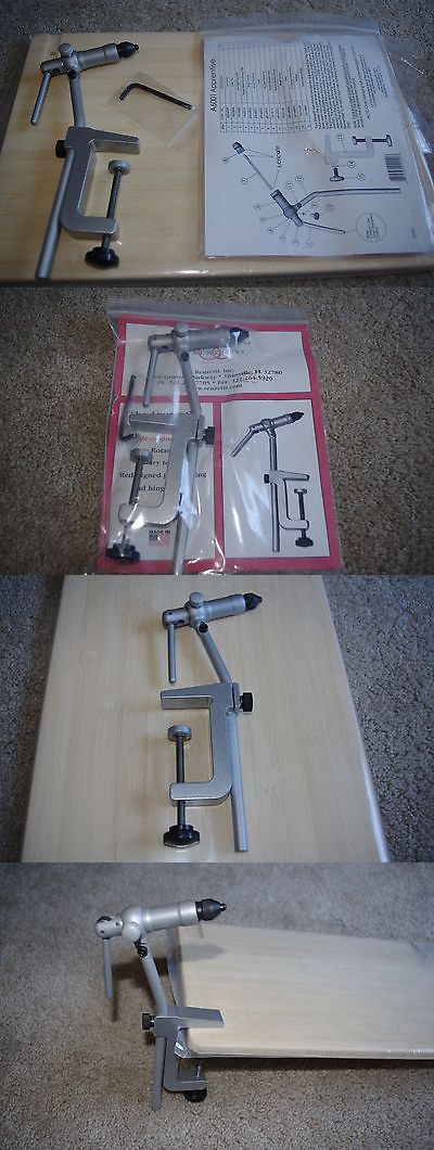 Fly Tying Vises and Tools 44916: Fly Tying Vice, Renzetti Apprentice Vise Plus C-Clamp BUY IT NOW ONLY: $124.99