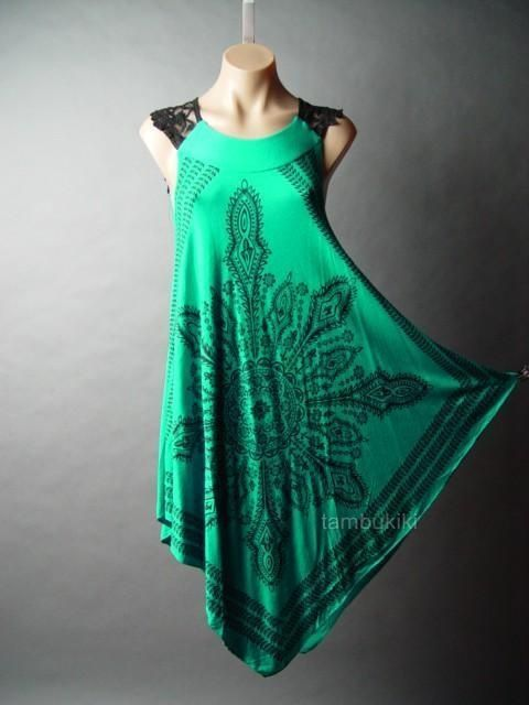 diy corssover boho dress patterns | Dresses Revamp, Handkerchief Dresses Diy, Prints Ethnic, Diy Scarf ...