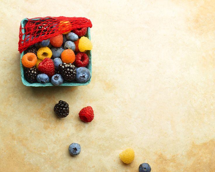 just as fresh as fresh berries...