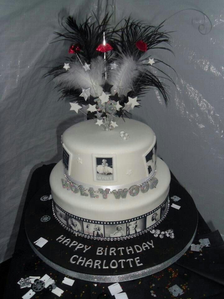 My Marilyn Monroe Hollywood glamour cake - yum