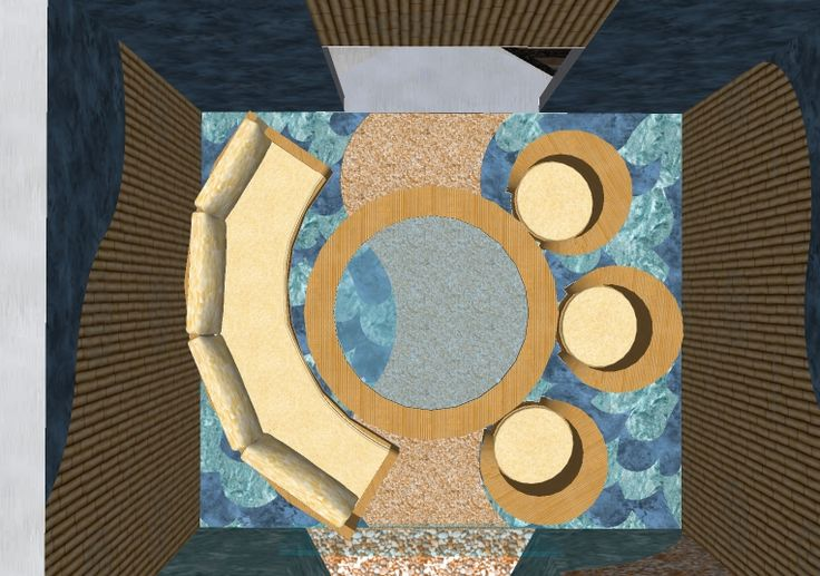 plan view.summer seating