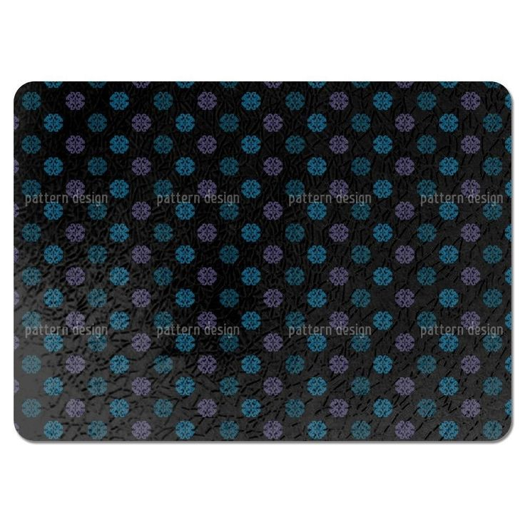 Uneekee Perhaps Black Placemats (Set of 4) (Perhaps Black Placemat) (Polyester)