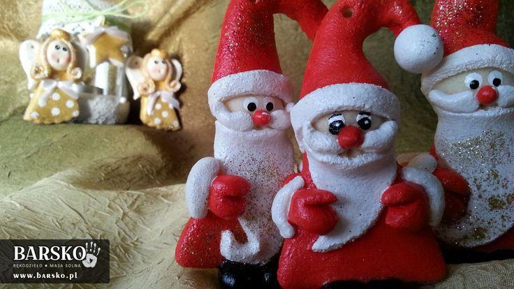 Mikołaje z masy solnej