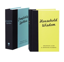 ABC Shop, Household Wisdom & Completely Spotless Books, $29.99 each,  Shop 48, Level 1, QVB.