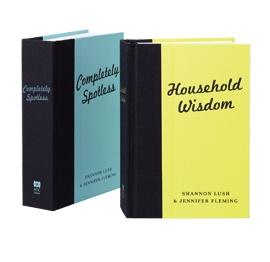 ABC Shop, Household Wisdom & Completely Spotless Books, $29.99 each,  Shop 48, Level 1, QVB.