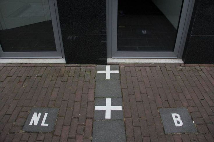 Confine tra Paesi Bassi e Belgio - #BORDERLINES