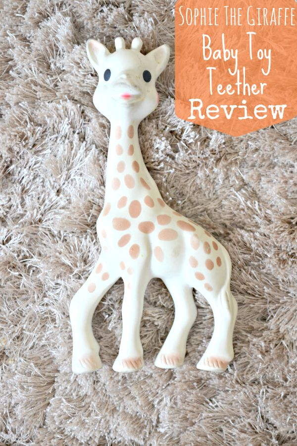 Sophie the Giraffe Baby Toy Squeaker Teether - REVIEW