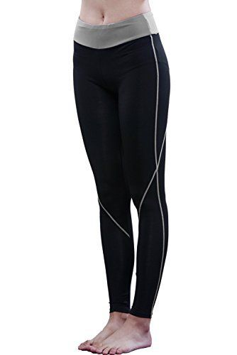 EU Yoga Leggings – Not just for sports!  – Material: 85% Polyester, 15% Spandex – Machine Washable in cold-water Design – Lovely color line winding your legs. – Wide waistband, don't roll down. – Wicking fabric, Let your skin breathe. – Quick-dry,...