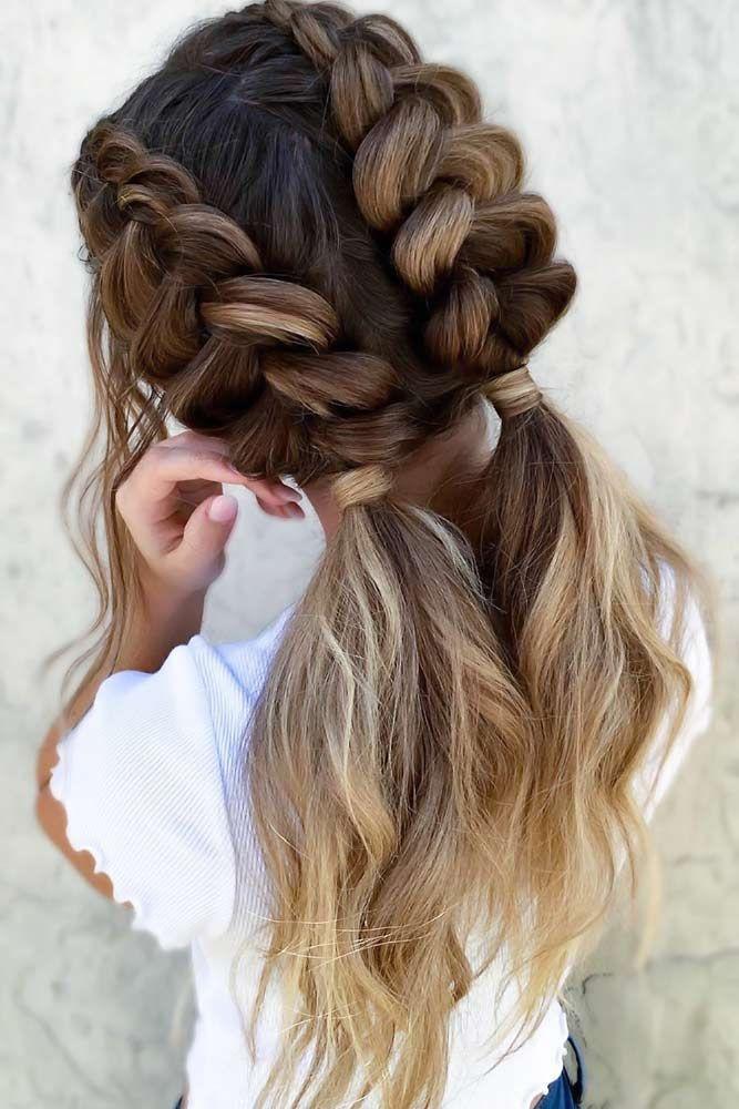 22 Cute Braid Hairstyles Cute Braided Ponytail Hairstyle Braids For Long Hair Hair Styles Cool Braid Hairstyles