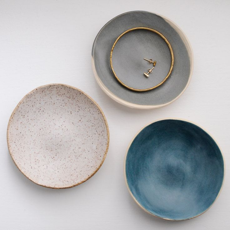 The perfect vessel worthy enough to hold your most prized jewels. We can't get enough of these hand-built dishes by BDB. While perfect for jewelry, it's versatile enough to be used elsewhere in the ho
