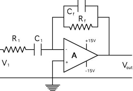 Op #AmplifierFilterCircuit is a #DC coupled high