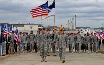 XVIII Airborne Corps concludes Operation New Dawn in Iraq.