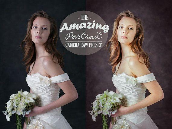 Amazing Portrait Camera Raw Preset è un preset che vi permette di lavorare sui vostri file RAW enfatizzando i vostri ritratti con un semplice