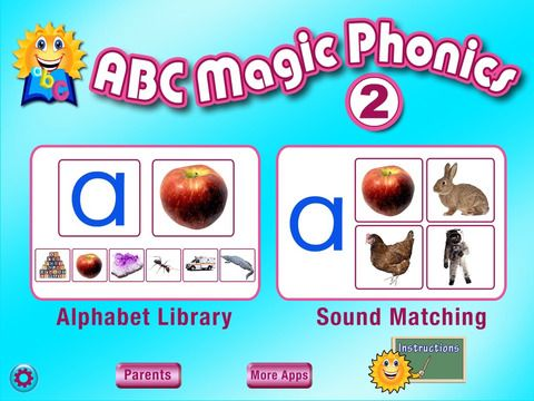 ABC MAGIC PHONICS 2 by PRESCHOOL UNIVERSITY