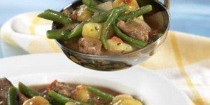 Κρεατόσουπα με φασολάκια