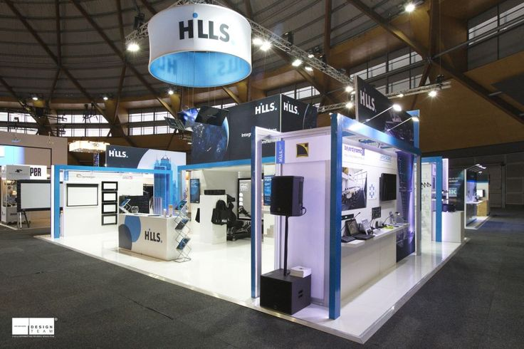 HILLS INDUSTRIES @ INTEGRATE   Based on Hills' re-branded image, we produced the Hills stand for their SVL division at Integrate. Hills goal is to launch their new brand within this industry as well as showcase their latest products on the market.  The stand is modified to suit this brand - with striking large format graphics, blue branded strips and innovative technology the stand generated and created the buzz they were looking for. #Exhibition #design #Integrate #Hills