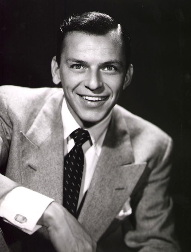 The Life and Career of Crooner Frank Sinatra: Promotional studio portrait of American singer and actor Frank Sinatra, 1950s.