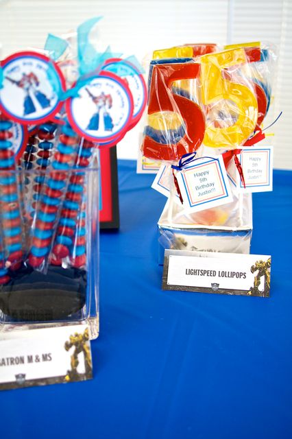 Transformers Birthday Party Ideas | Photo 32 of 69 | Catch My Party
