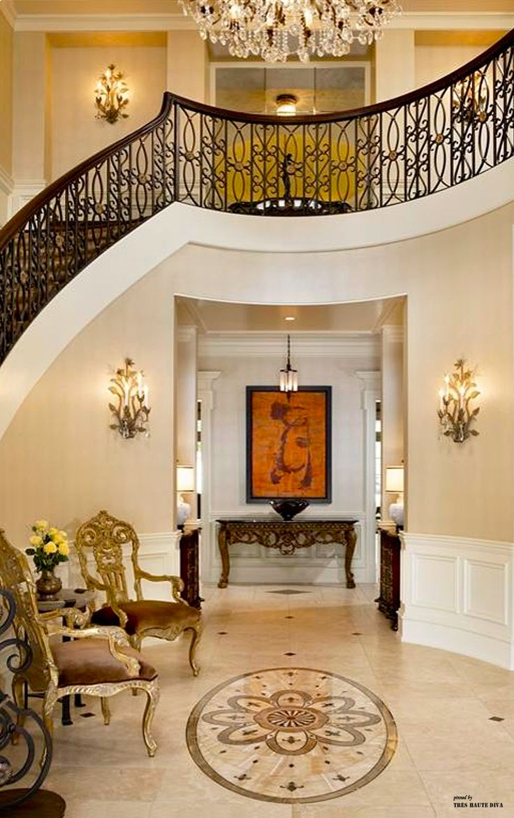 Formal entry hall luxury mansion pinterest entry hall for Entrance hall decor