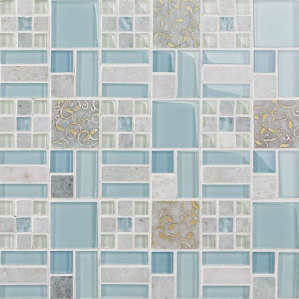 This is the tile grouted.  Nice.