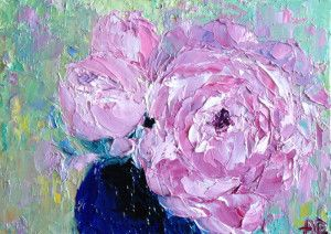 """""""Peony Flowers"""" by Alena Rumak"""