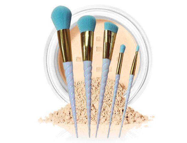 readystock 5 piece makeup brushes set  any interested contact: alicesdsd@aliyun.com or 86-13424200883(WhatsApp)