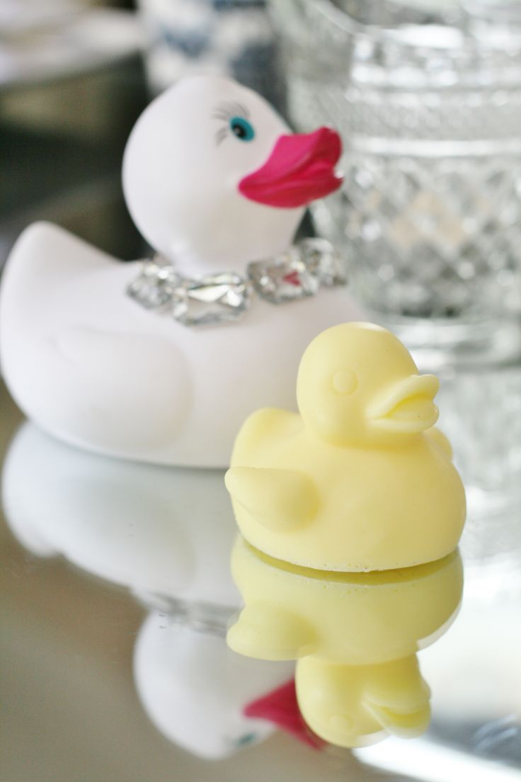 """""""Lil Gem"""" Duckie Soap  55g ea       Simply Natural and Handmade in Australia Mold has been specially commissioned to produce  Milky and Creamy Sunshine available from www.rubberduckie.net.au"""