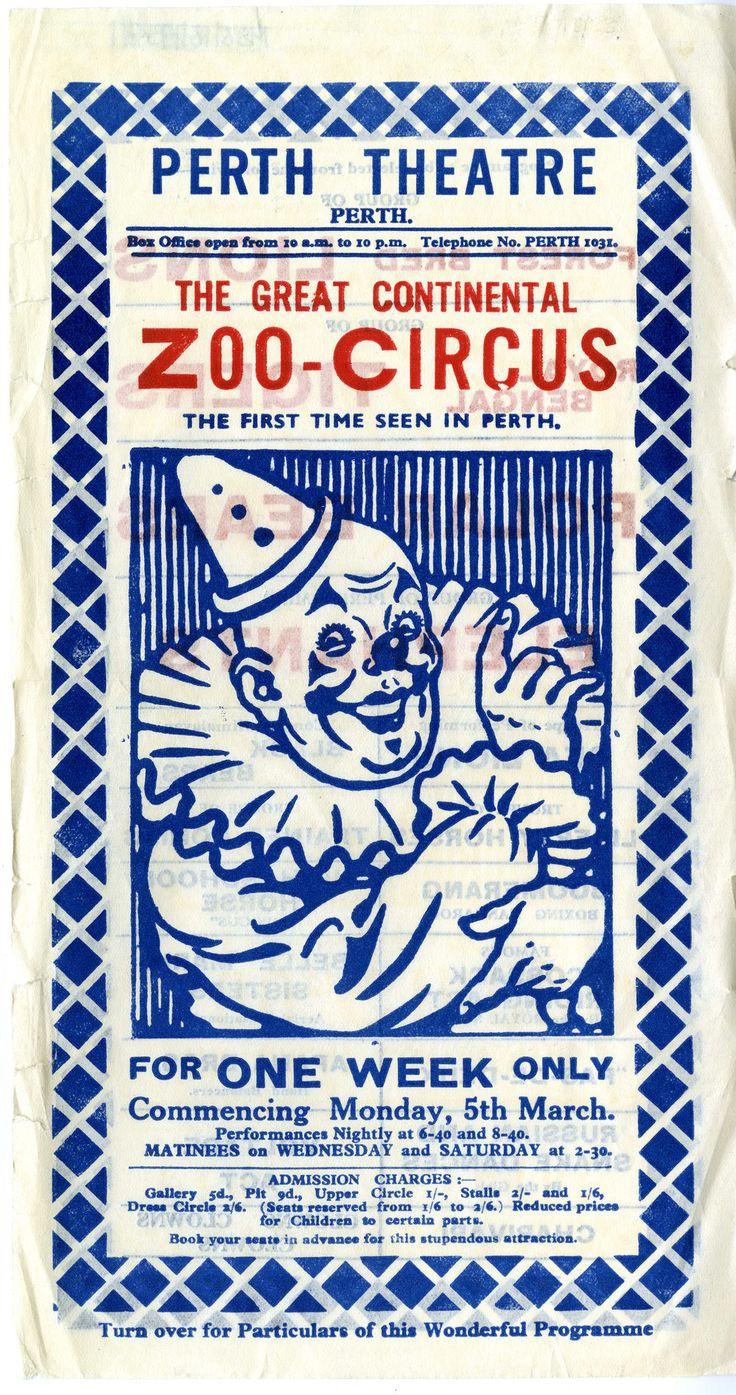 Zoo Circus  in Perth Theatre Scotland