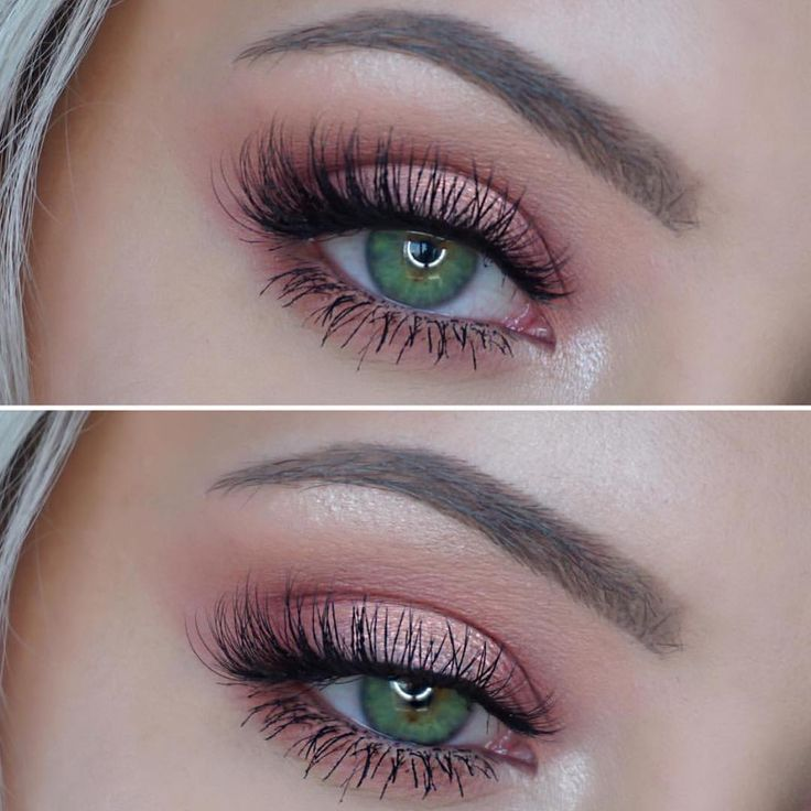 Makeup Geek Duochrome Eyeshadow in I'm Peachless + Makeup Geek Eyeshadows in…