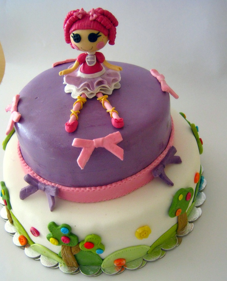 284 Best Images About Lalaloopsy Cakes On Pinterest