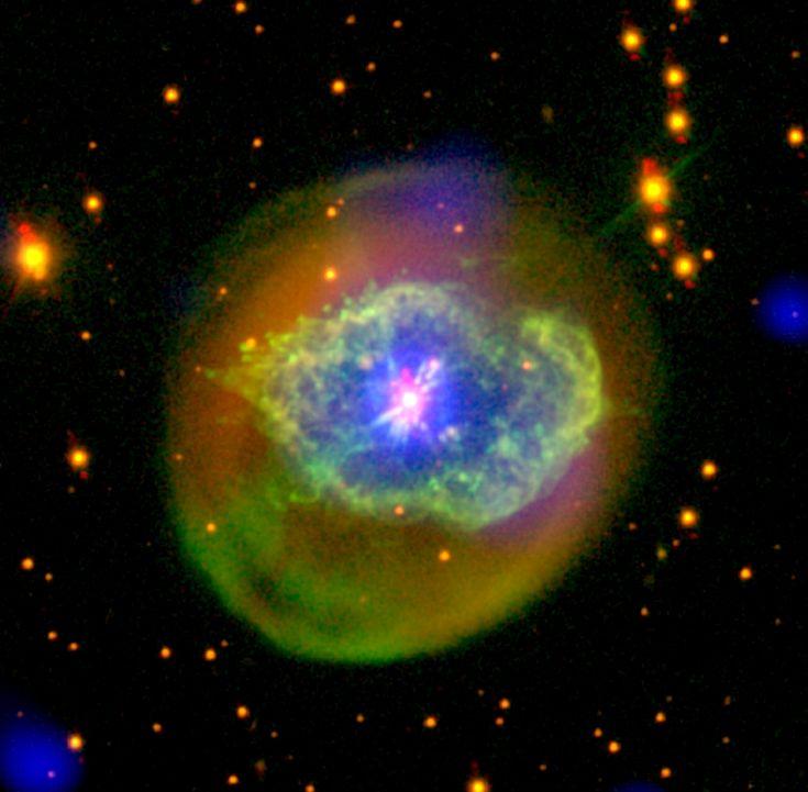 Born-again planetary nebula