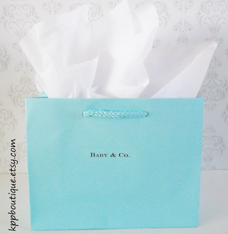 157 best tiffany co inspired shower images on pinterest tiffany co inspired personalized gift bags s2 750 negle Gallery