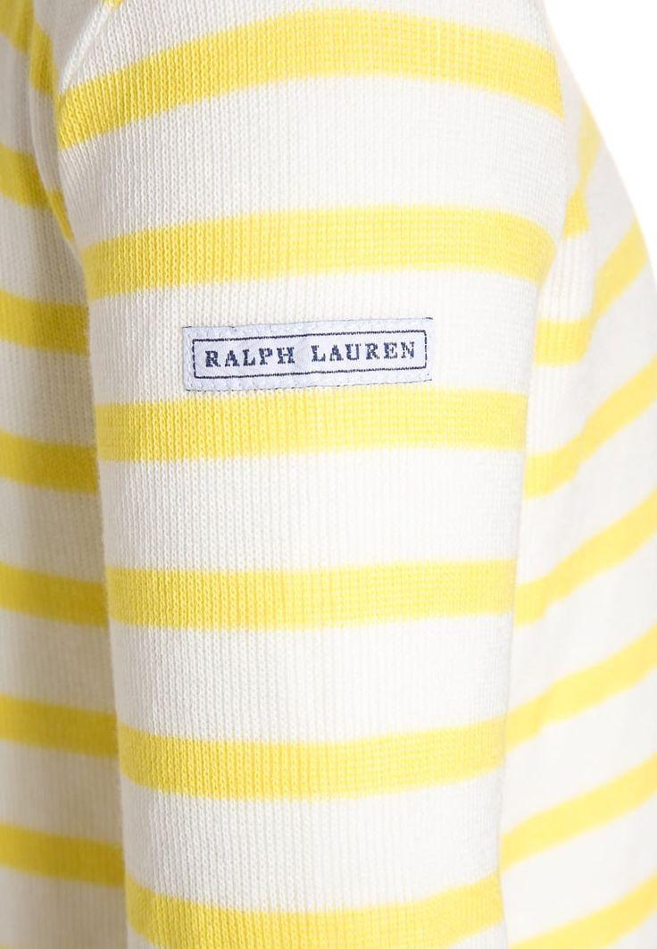 Polo Ralph Lauren Sweter - active yellow/multicolor za 151,2 zł (27.06.16) zamów bezpłatnie na Zalando.pl.