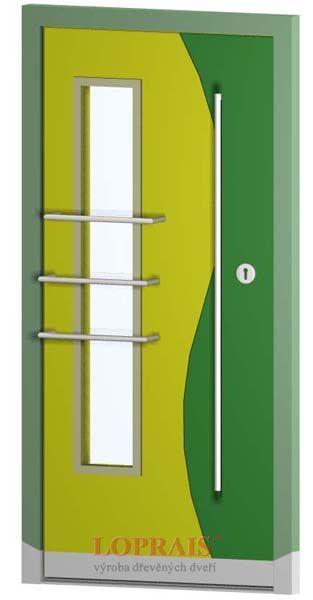 Vstupní dveře Sapeli - více na  http://www.dodo-dvere.cz/cz/k/Venkovni-dvere.aspx