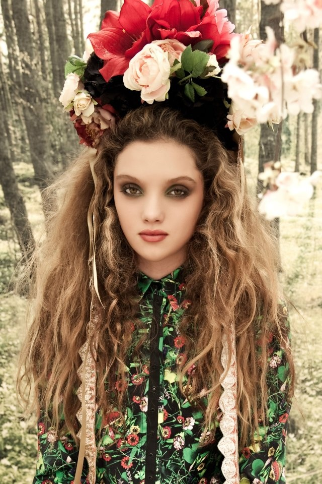 Woodland Tales editorial by Laura Tait - COOP Mad Maiden dress