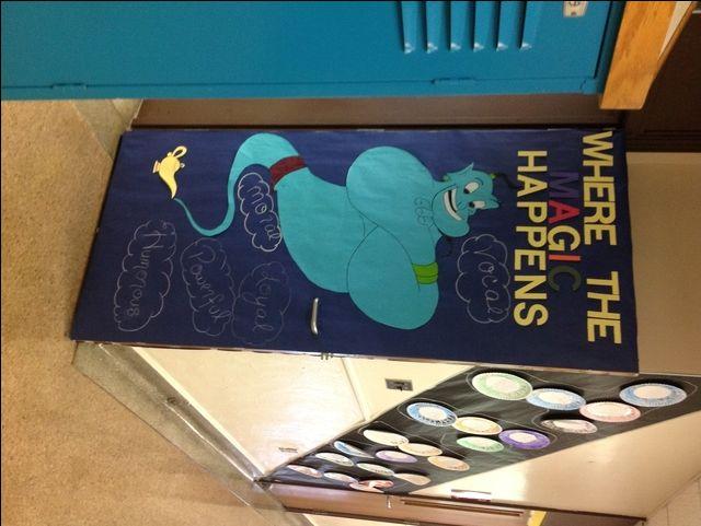 Classroom Decoration Ideas Printables ~ Disney door decoration for school g
