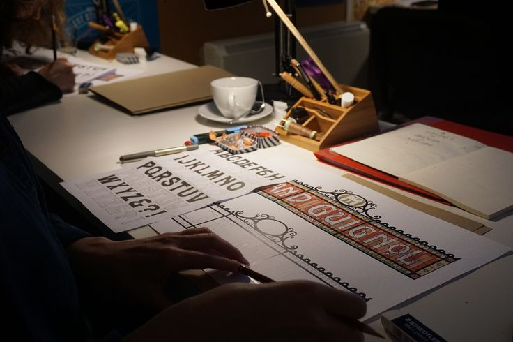 I spent last weekend in Annie Atkins' basement studio, attending a two-day workshop on Graphic Design for Filmmaking. Here's what I learnt.