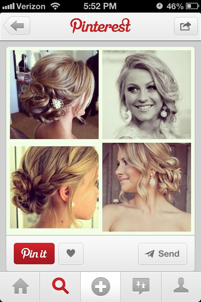 All Around Loose Curls Updo