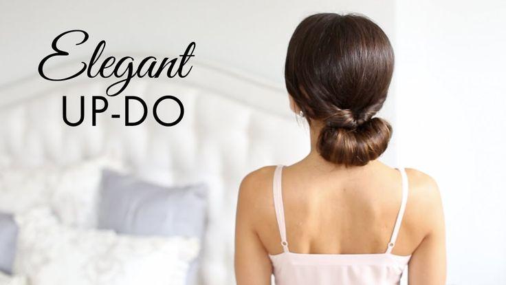 Elegant Up-Do Hair Tutorial (+lista de reproducción)