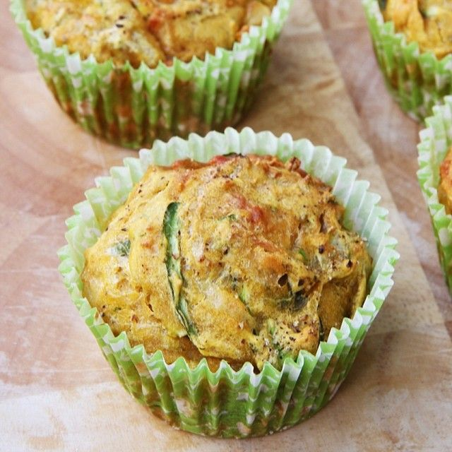 Savoury Muffins from the I Quit Sugar 8-Week Program. Photograph by @missmarzipancom.