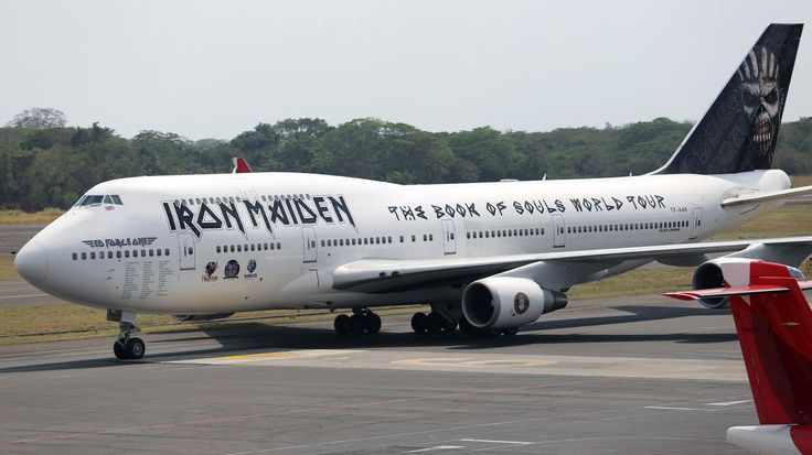Iron Maiden's 'Ed Force One' Plane 'Badly Damaged' in Airport Accident #headphones #music #headphones